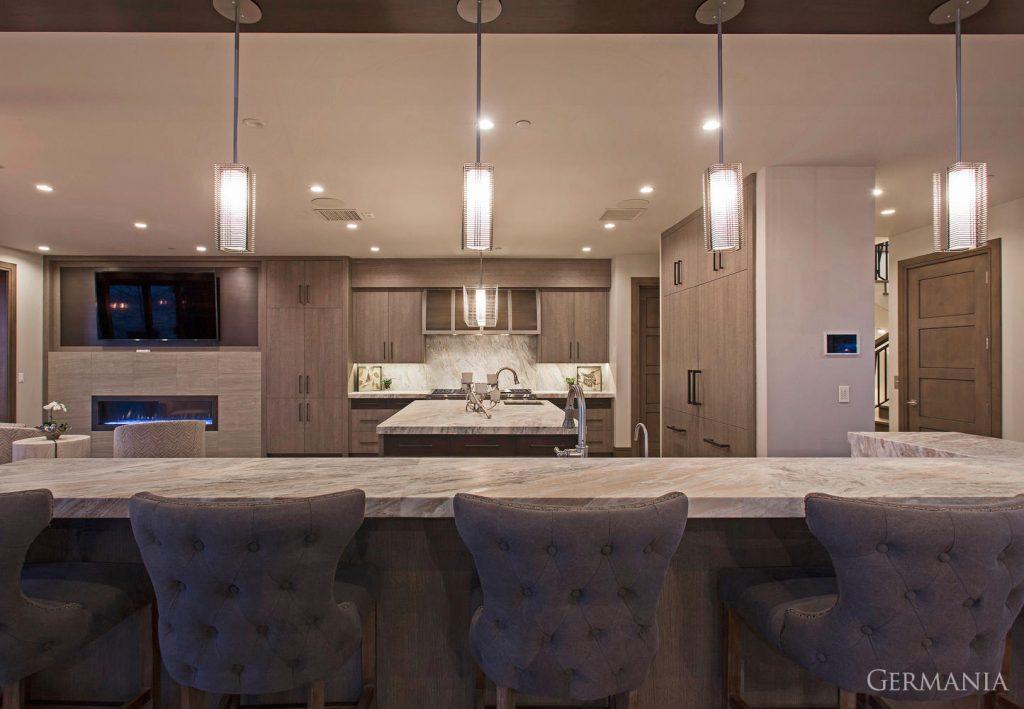 Build custom luxury home kitchen