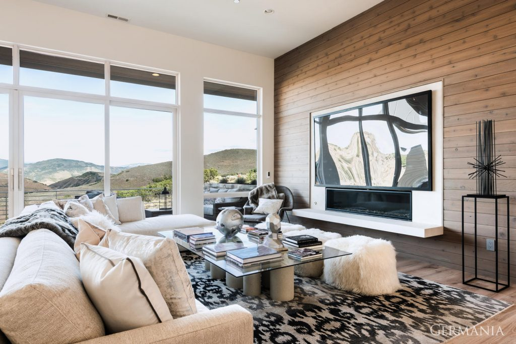 Build your dream house living room