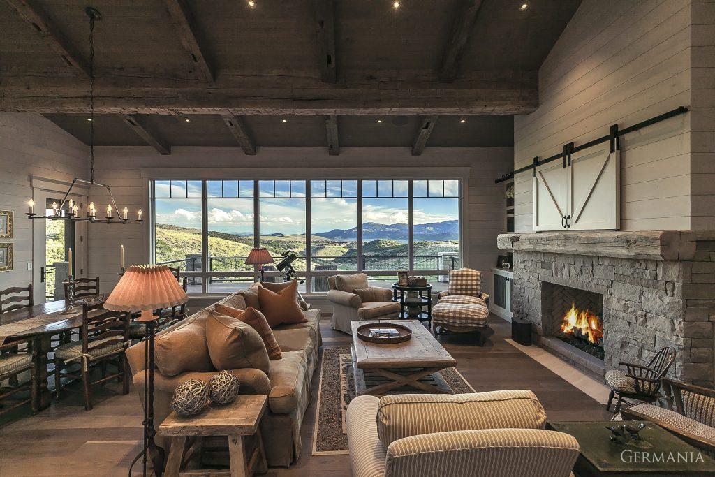 Build your dream house living room park city