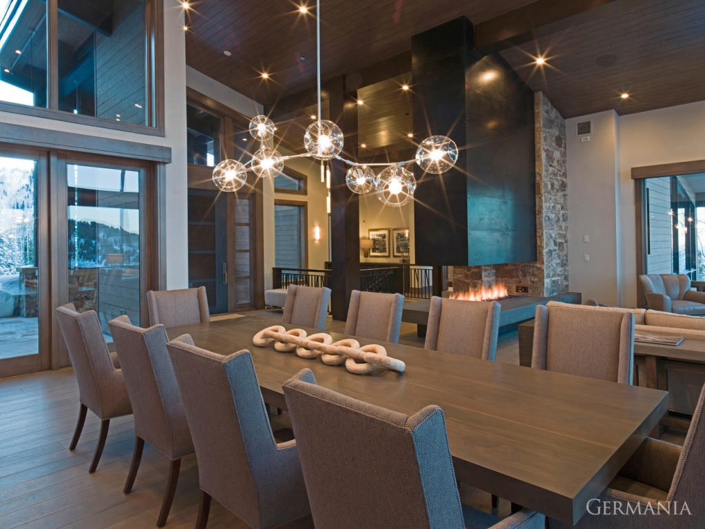 Build your own mansion dining room