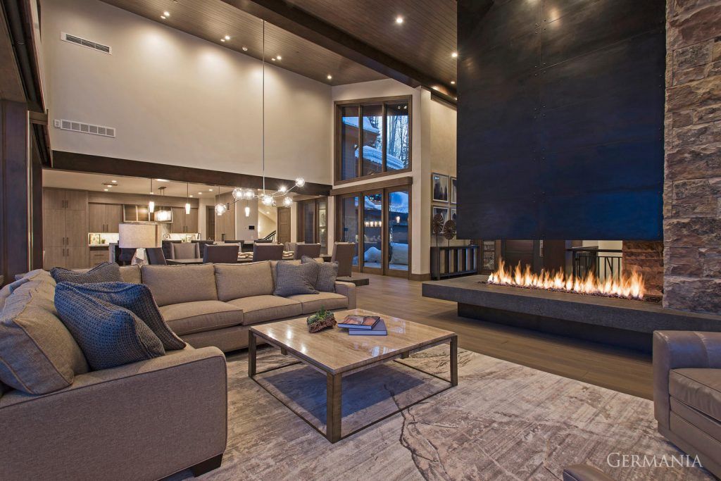 Build your own mansion living room