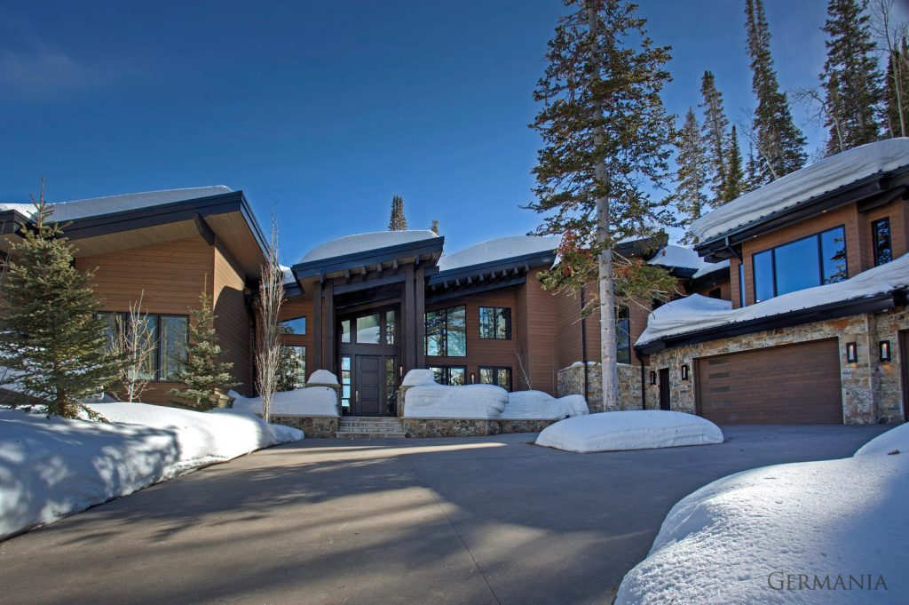 Custom built homes exteriors park city utah