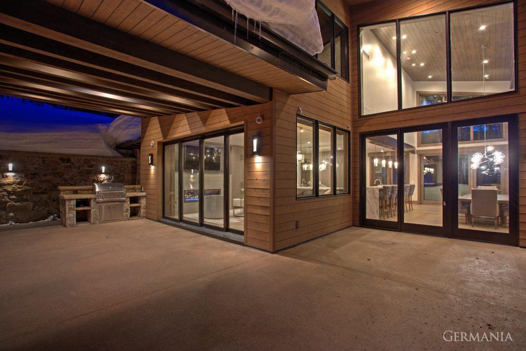 Custom contemporary homes exteriors park city ut