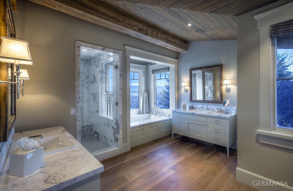 Custom house design bathroom