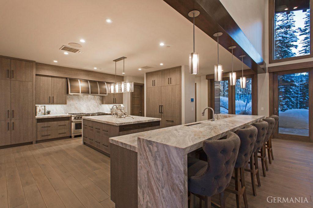 Custom house design kitchen