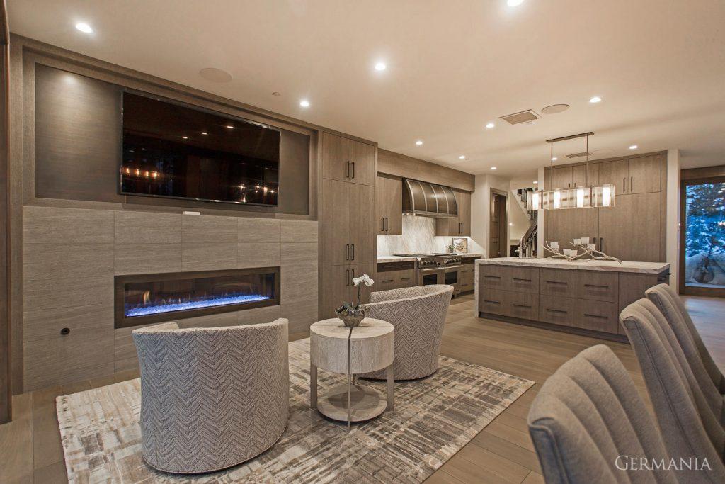 Luxury home dining room