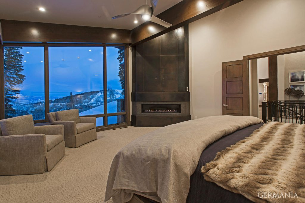 Luxury home master bedroom