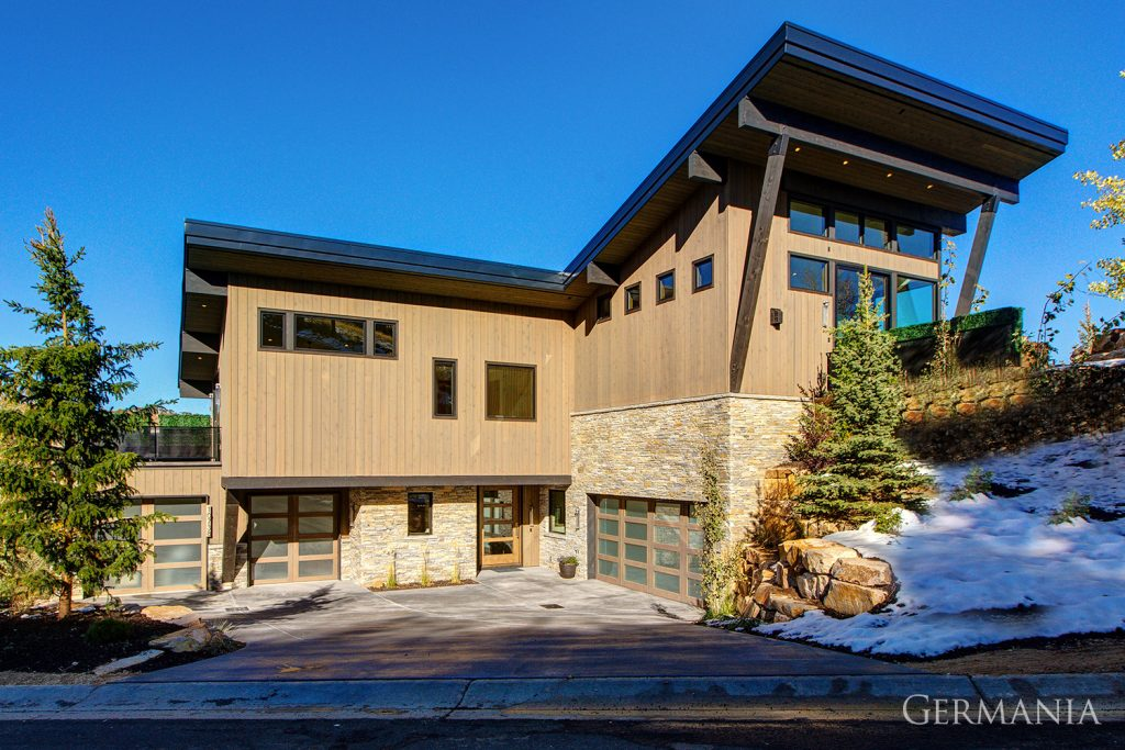 Build and design your own house exteriors park city utah