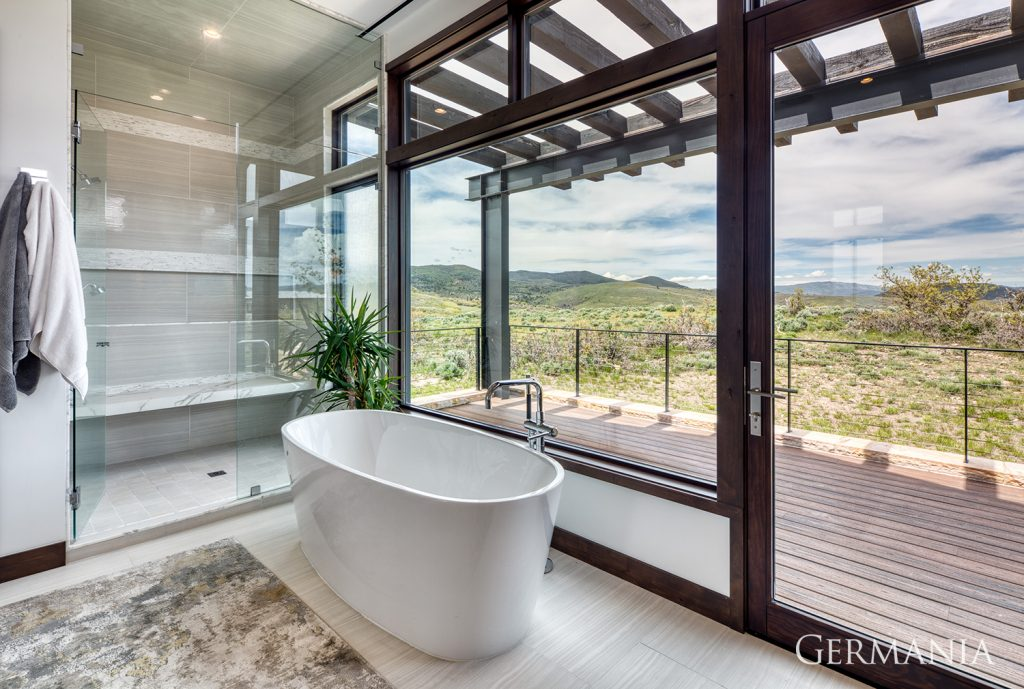 Build and design your own master bathroom