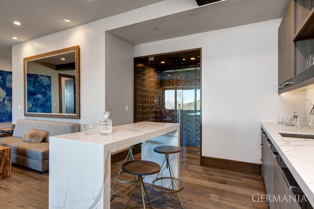Build custom luxury home wine room