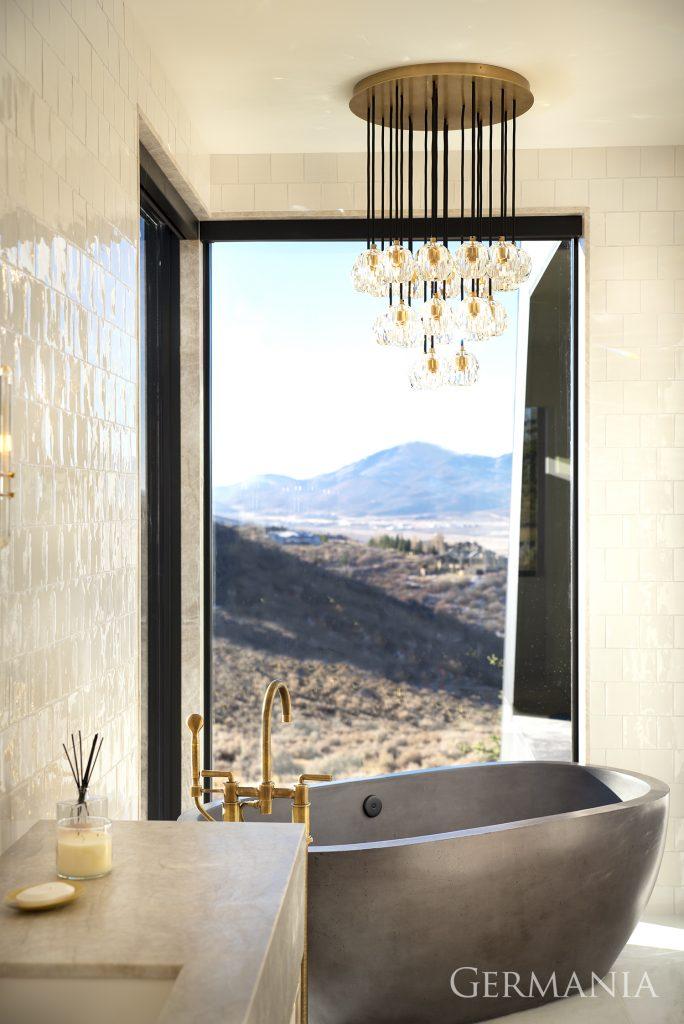 Build your dream house master bathroom park city utah