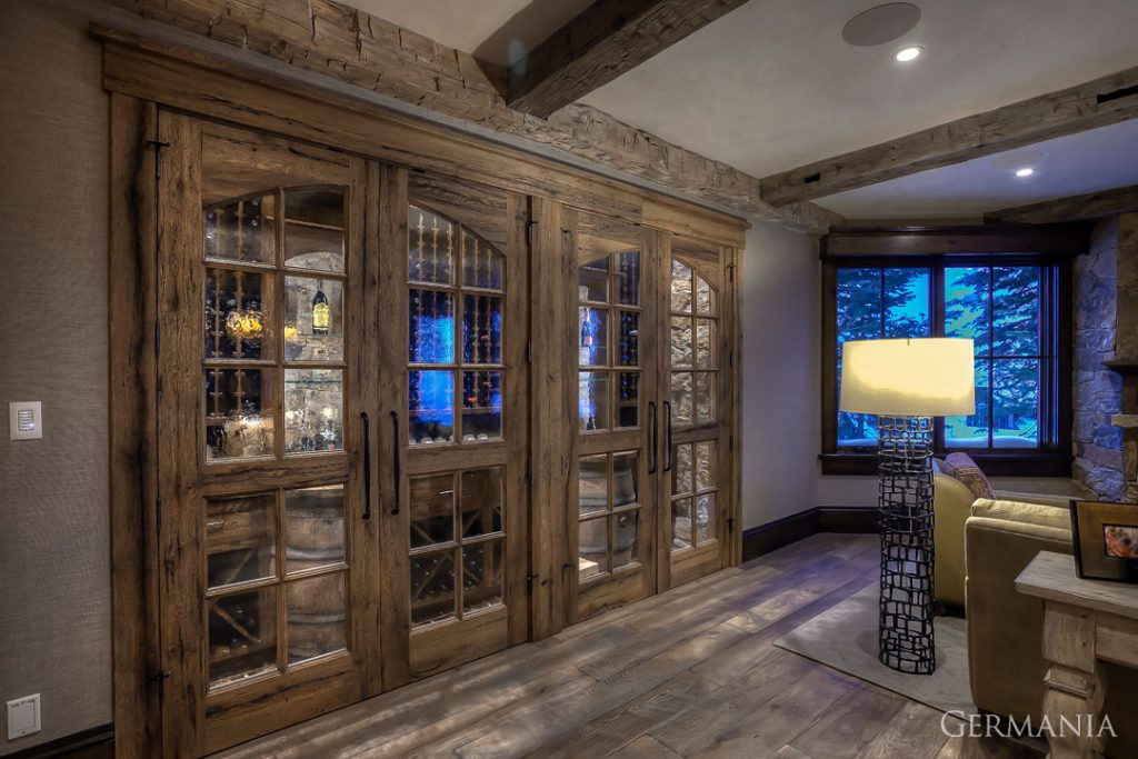 Build your dream house wine room