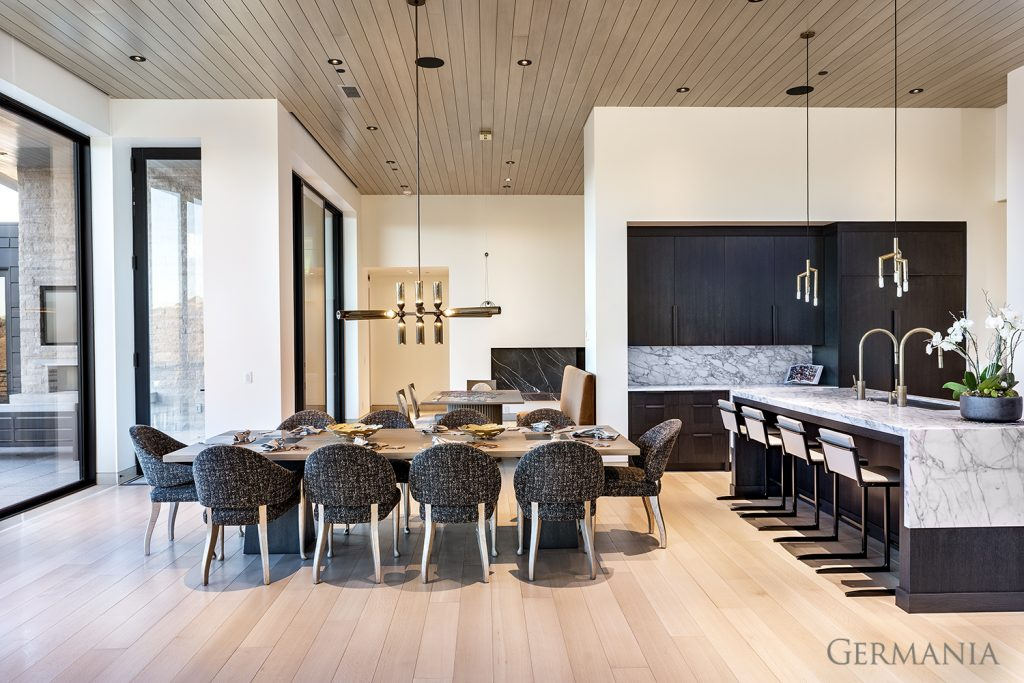 Build your own mansion dining room park city utah