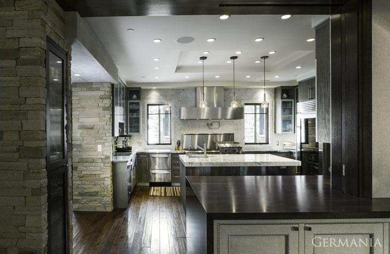 Build your own mansion kitchen