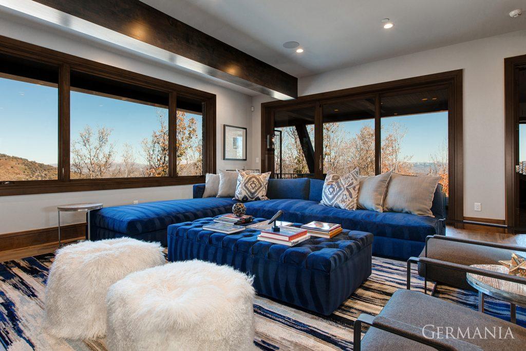 Build your own mansion living room park city utah