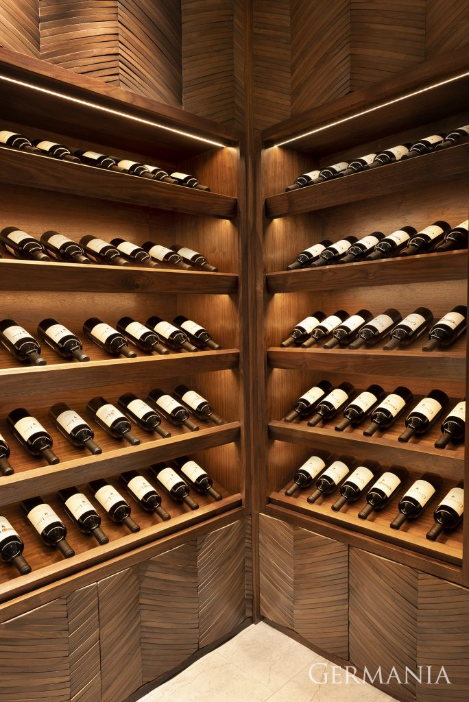 Create dream house wine room