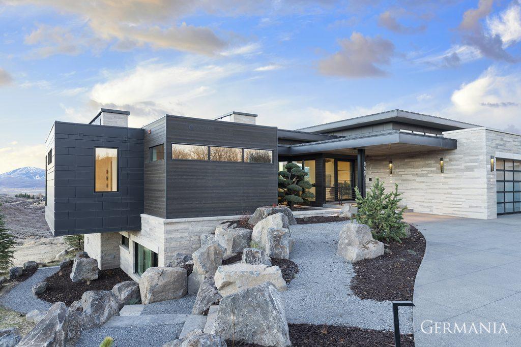 Custom home builder exteriors