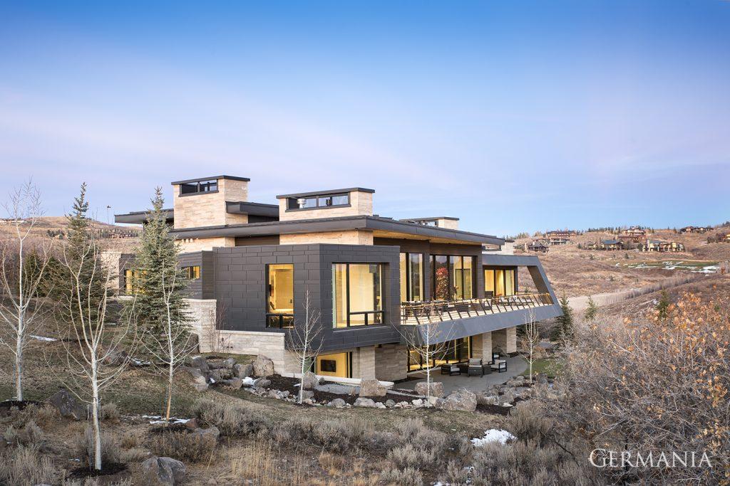 Custom home design building exteriors