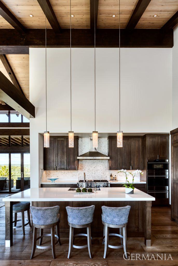 Custom luxury home kitchen