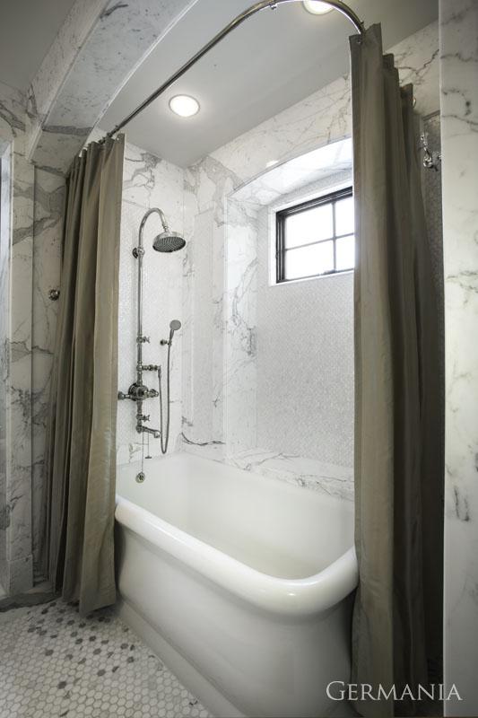 Custom luxury home master bathroom