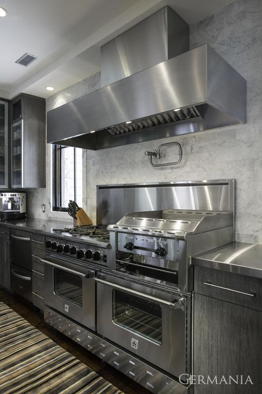 Custom made home kitchen