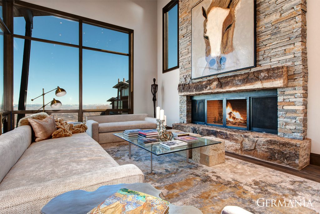 Design your own mansion living room park city utah