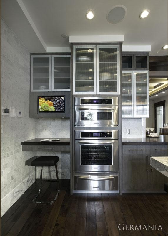 High end custom home kitchen