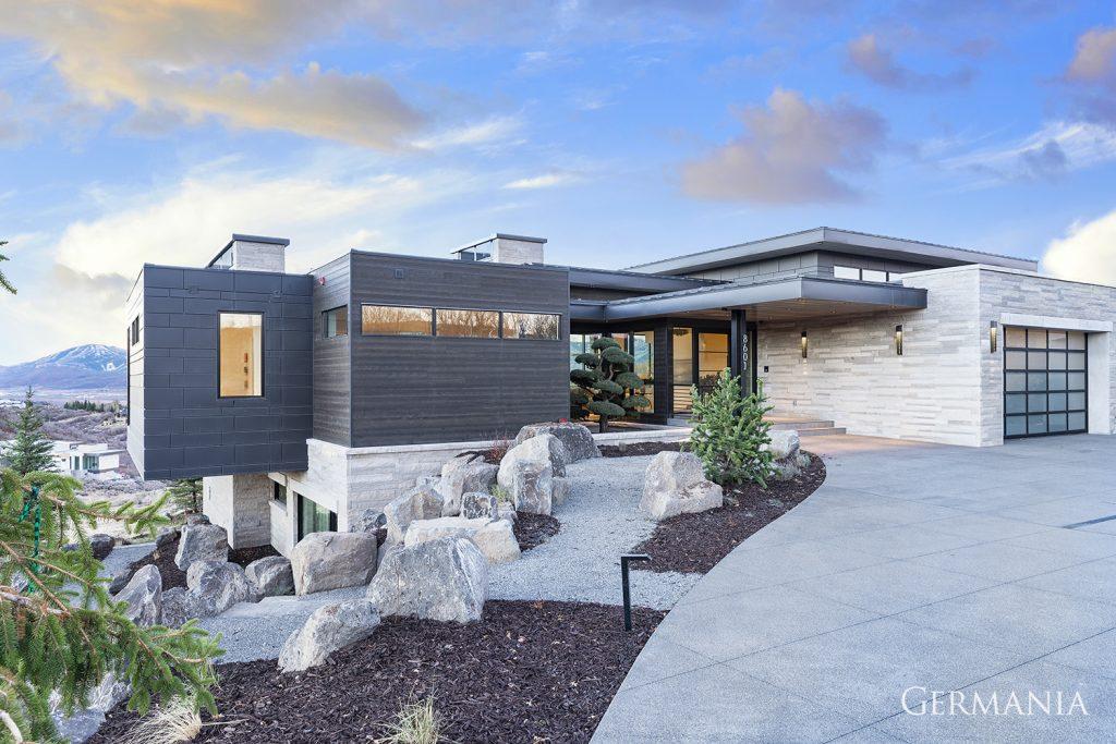High end custom homes park city ut