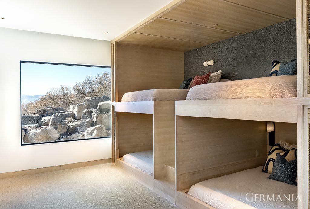 Luxury home bedroom park city