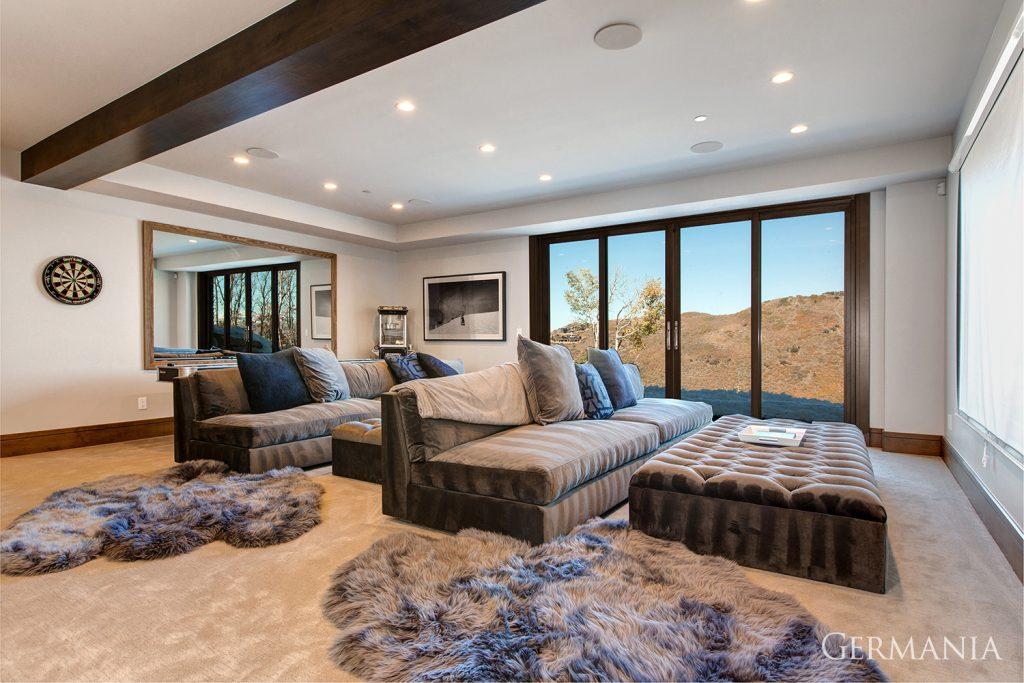 Luxury home living room park city utah