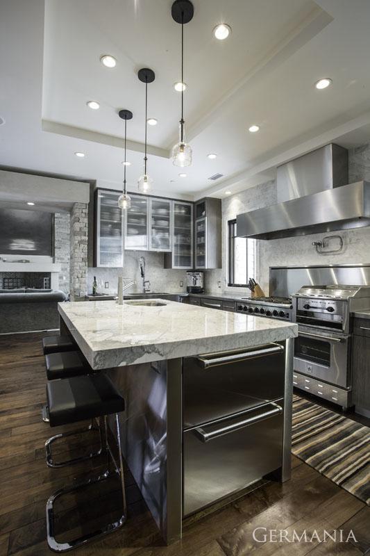 Professional custom home kitchen