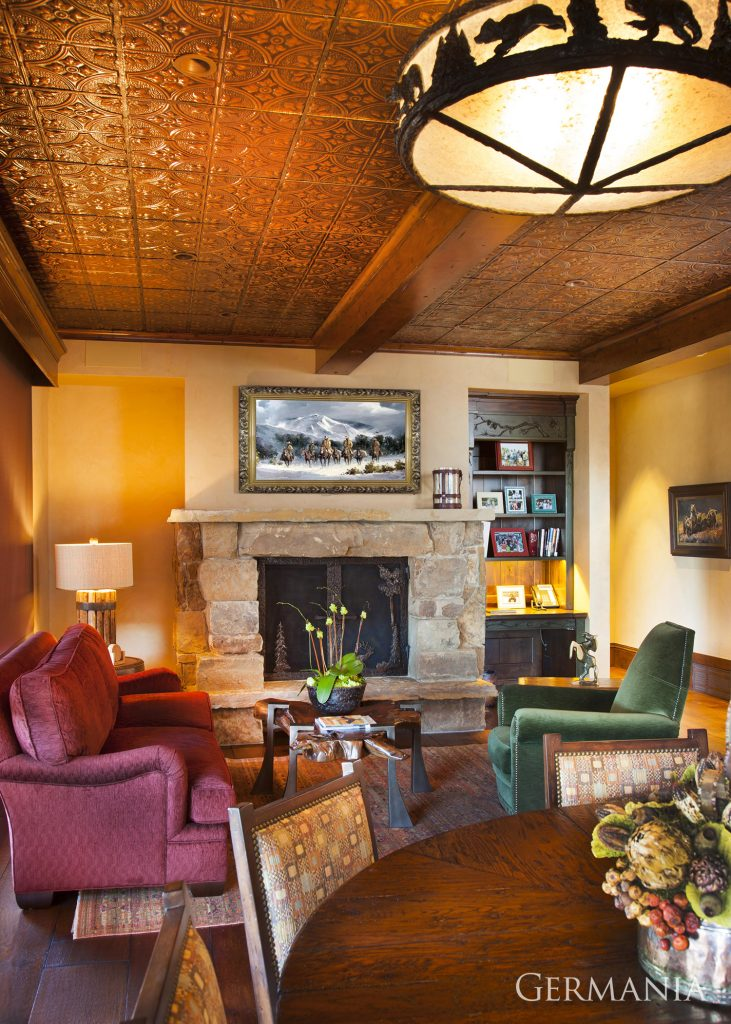 Build and design your own living room park city