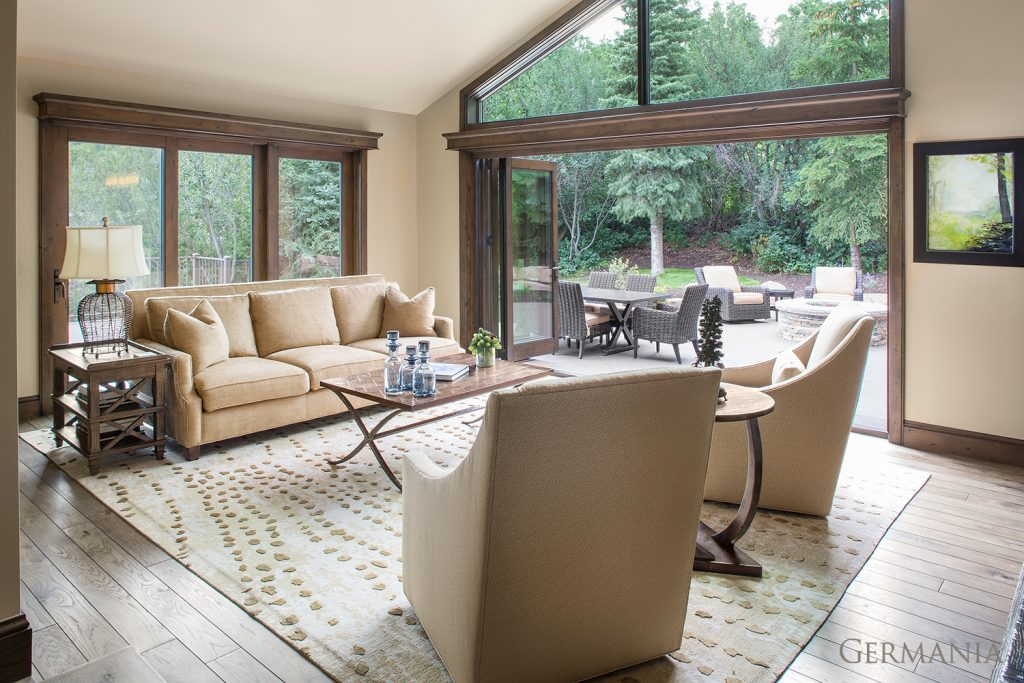 Build and design your own living room windows
