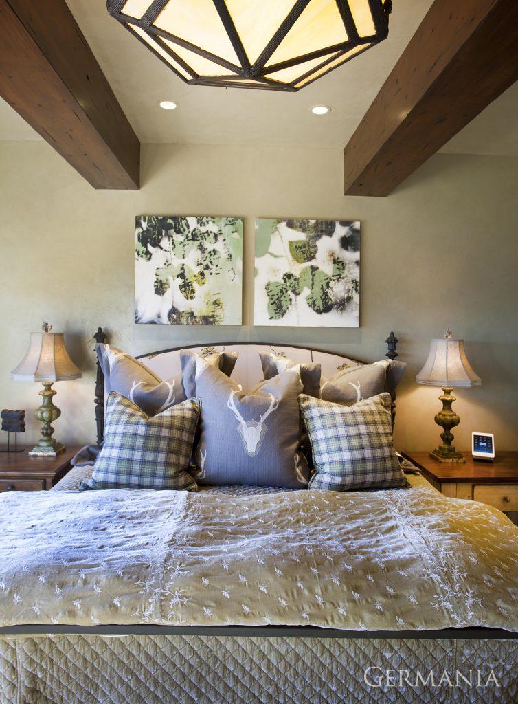 Build your own mansion bedroom park city utah