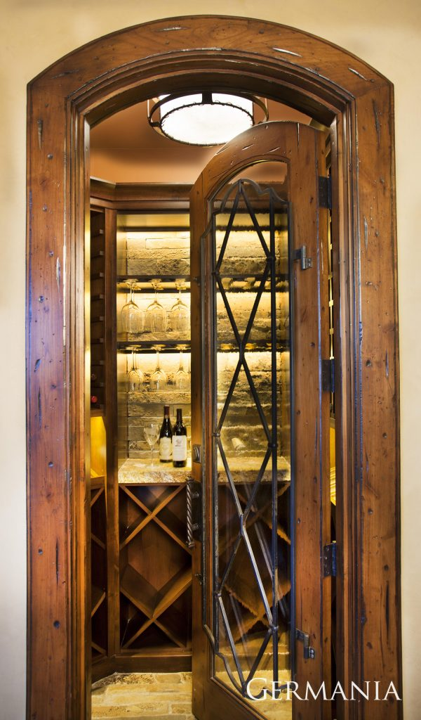 Build your own mansion wine room