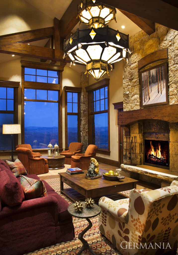 Create dream house living room park city
