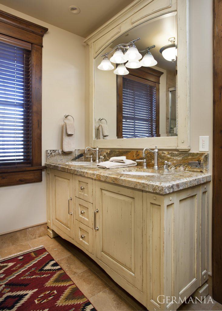 Custom contemporary home bathroom