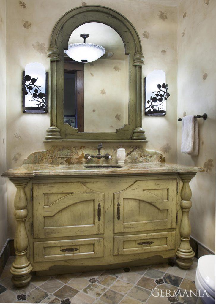 Custom luxury home bathroom park city