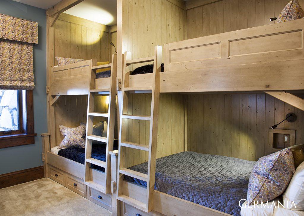 Custom made home bedroom park city utah