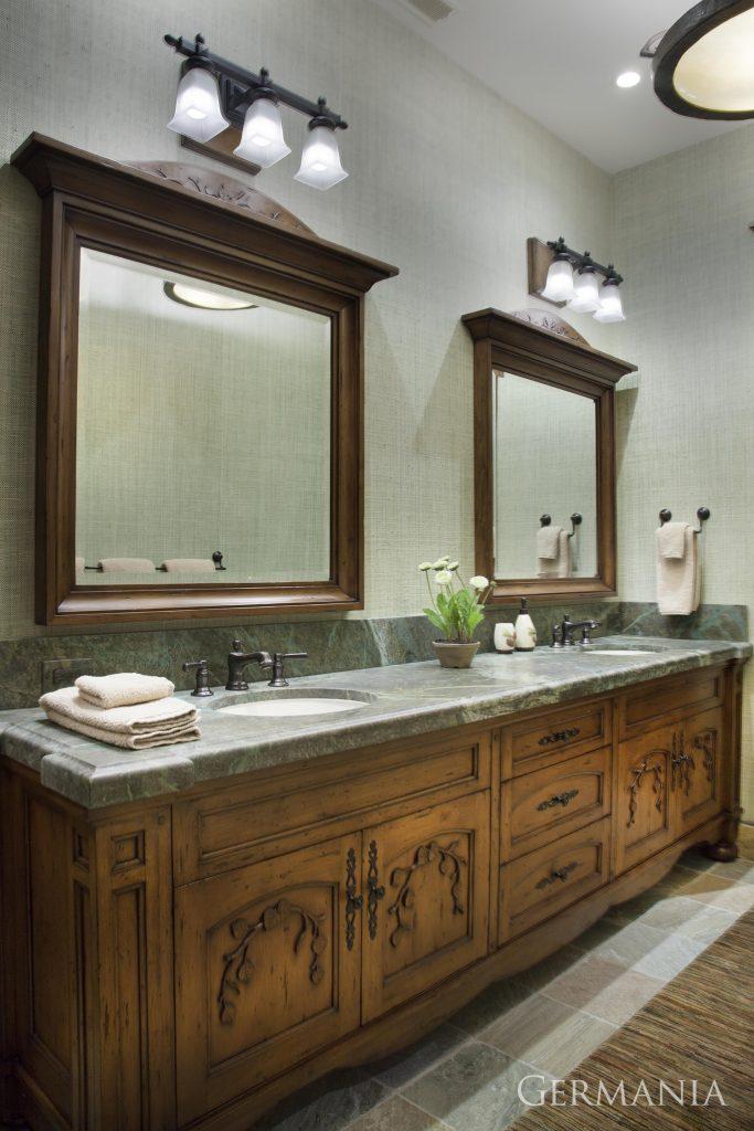 Professional custom home bathroom
