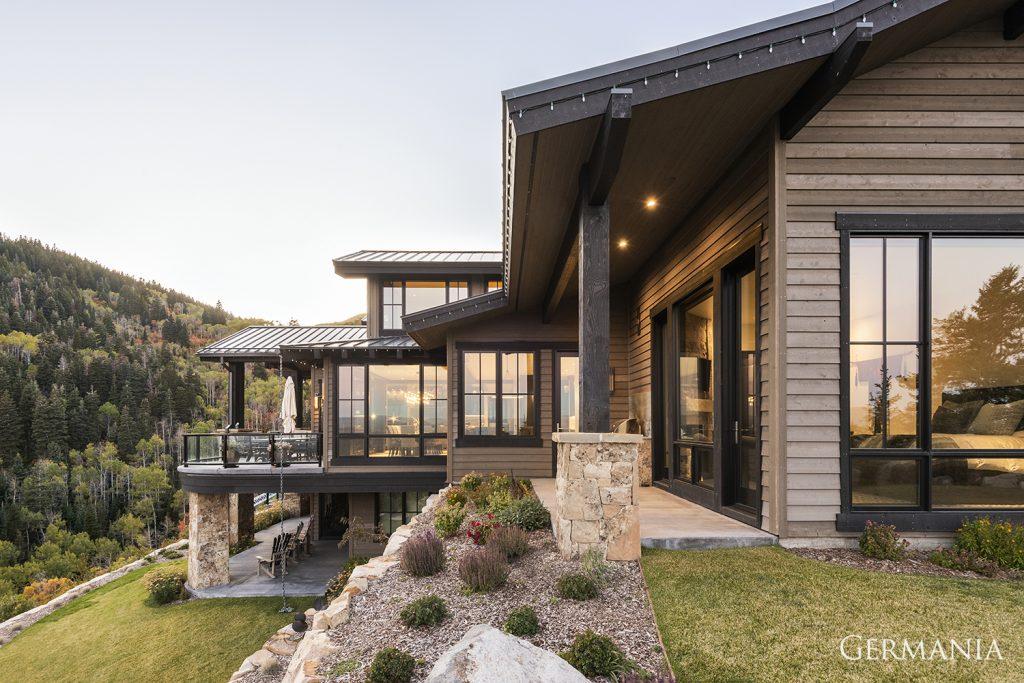 Build custom luxury home exteriors park city utah