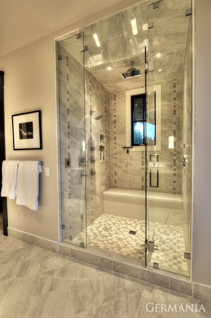 Build your own mansion master bathroom