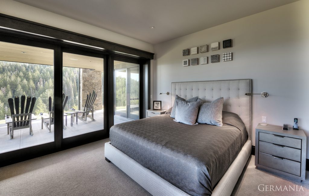 Custom built bedroom