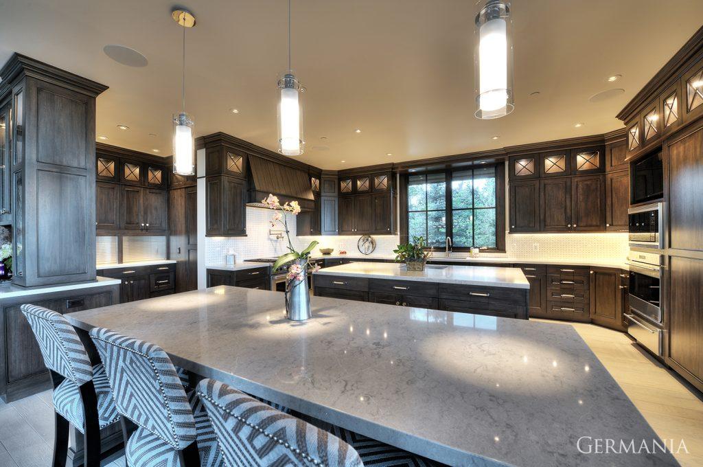 Custom luxury home kitchen park city utah