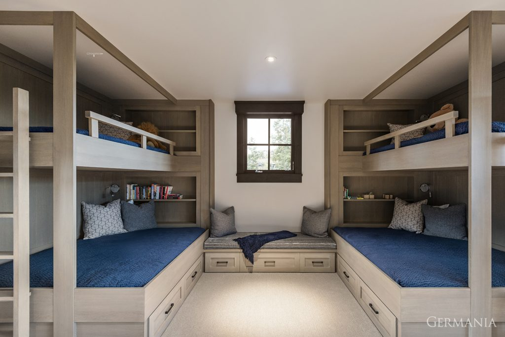Custom made home bedroom