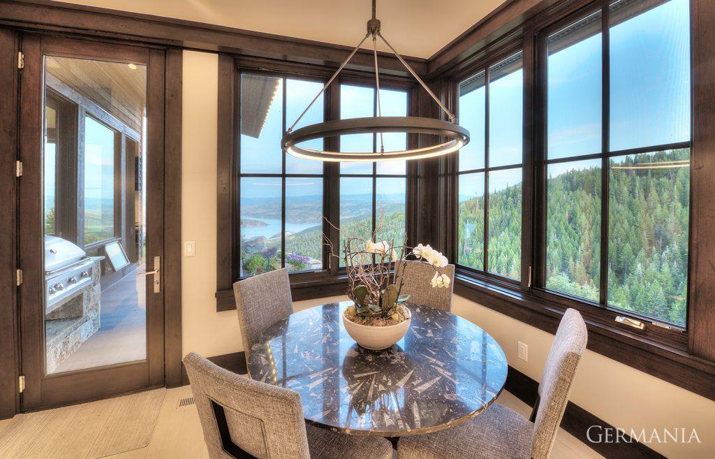 Custom made home dining room