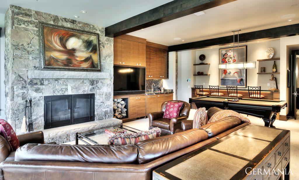 Design your own mansion living room