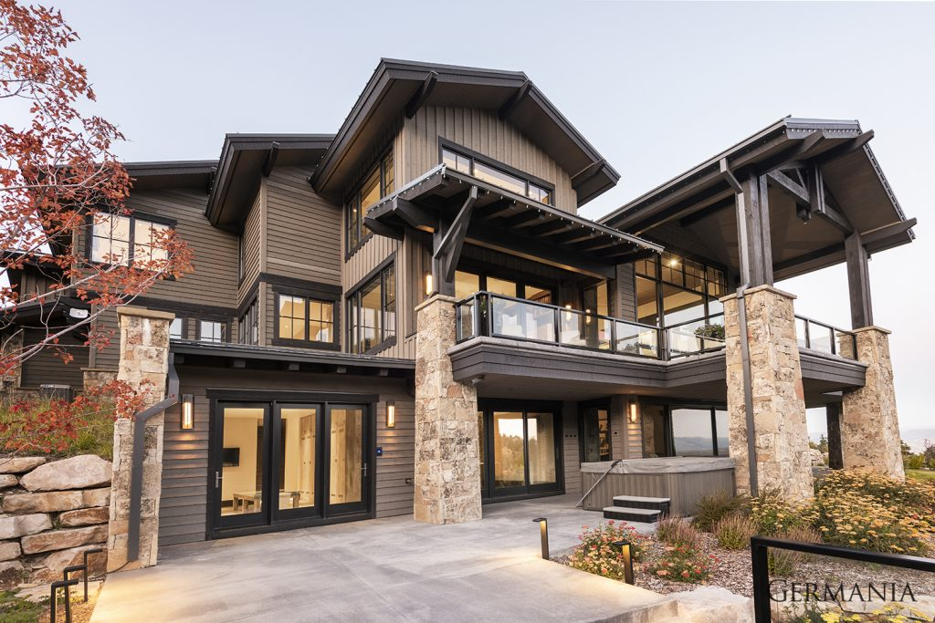 High end home builders exteriors park city utah