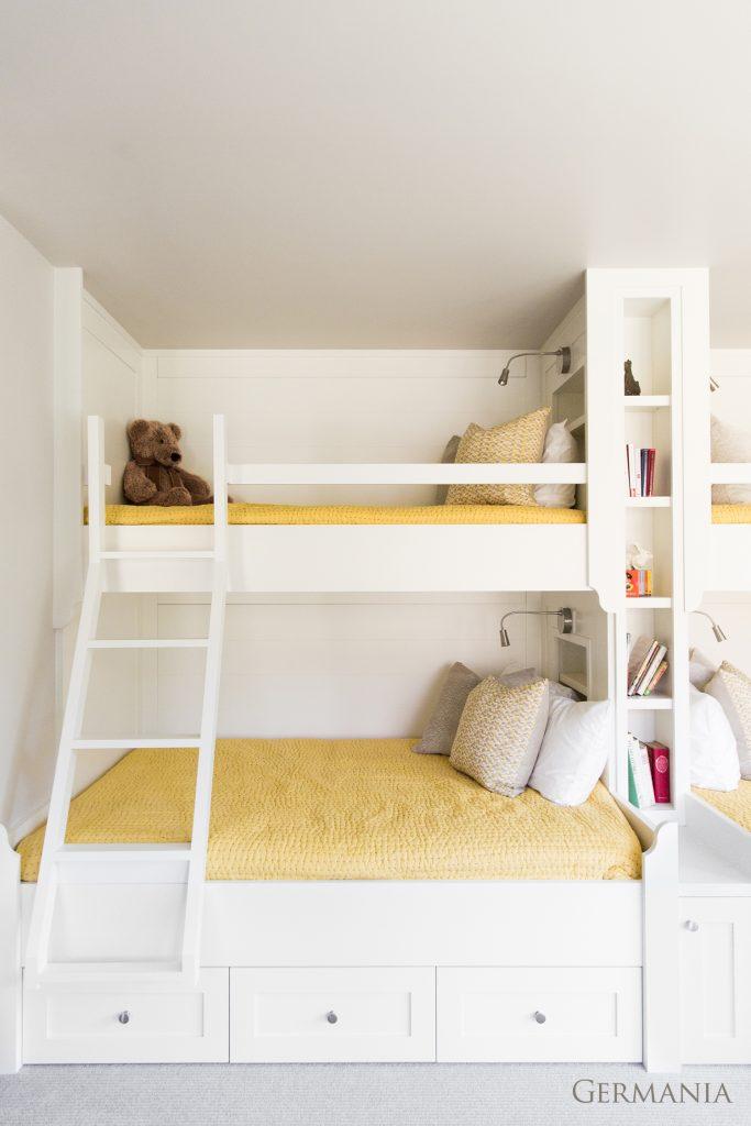 Professional custom home bedroom